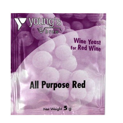 Дрожжи винные  Young's All Purpose Red Wine  5g