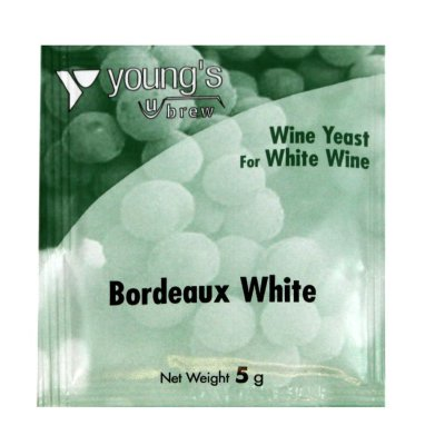Дрожжи винные  Young's Bordeaux White Wine  5g