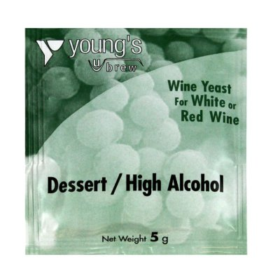Дрожжи винные  Young's Dessert/High Alcogol Wine  5g