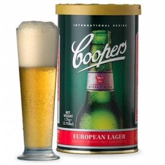 Экстракт Coopers European Lager, 1,7кг