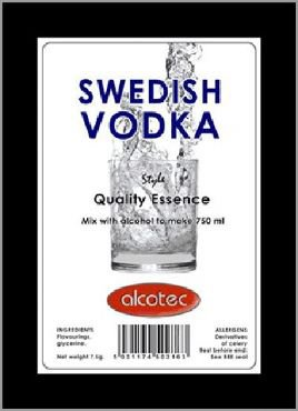Эссенция AT Swedish Vodka for 750ml